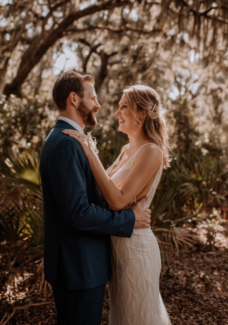 couple at Cumberland Island